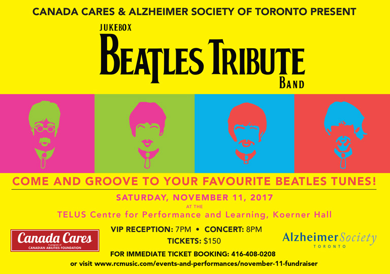 November 11, 2017 Beatles Tribute