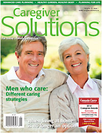 Caregiver Solutions Magazine spring 2014