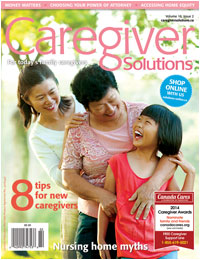 Caregiver Solutions Magazine summer 2014