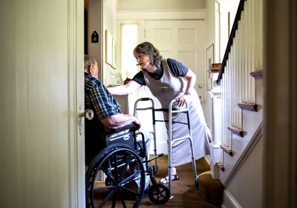 Caregivers Are No Spring Chickens Themselves